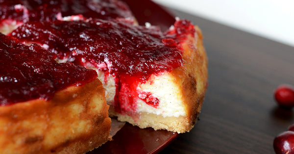 Cranberry Cheesecake, No Added Sugar