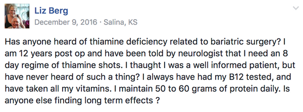 Thiamine? What's that? Is it Important?