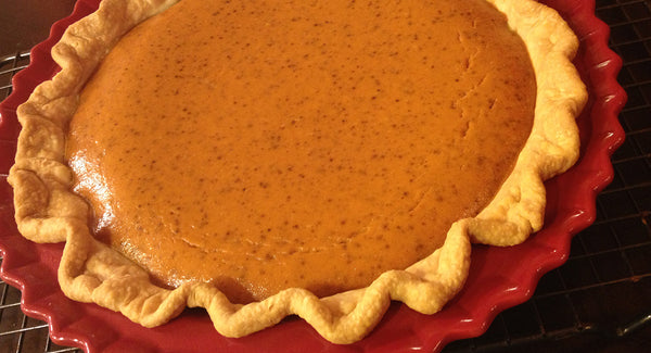 Sugar Free Pumpkin Pie. To Crust, or not to Crust.