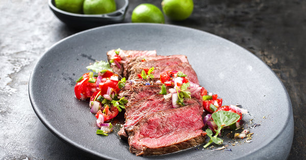 Thin Sliced Beef with Tomato Relish