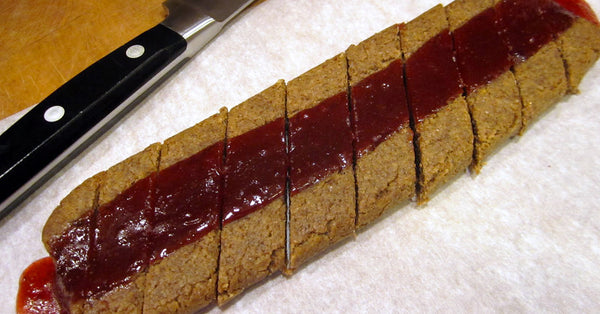 Strawberry Jam Bars sugar free