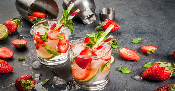 Strawberry Mojito - sugar free