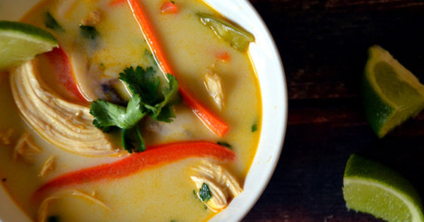 Ten Minute Thai Chicken Soup