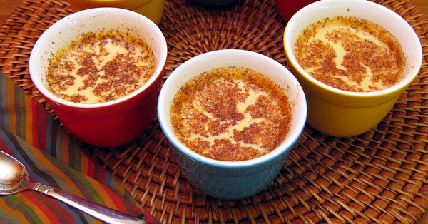 Vanilla Egg Custard