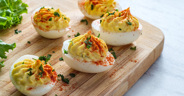 Old-fashioned Deviled Eggs