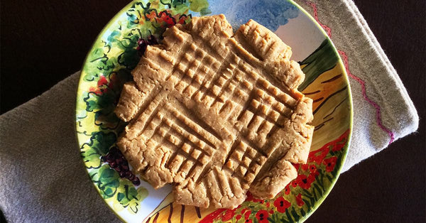 Perfect Peanut Butter Cookie for ONE