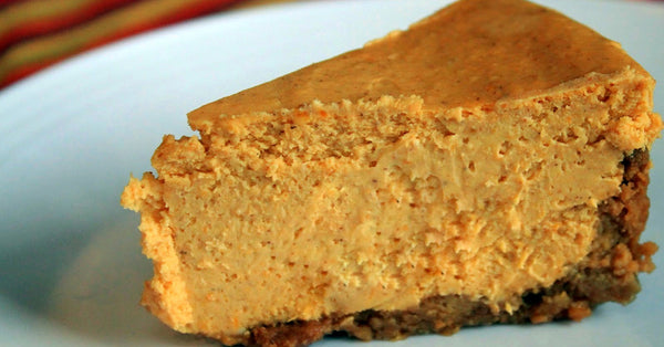 Pumpkin Cheesecake. Sugar Free.
