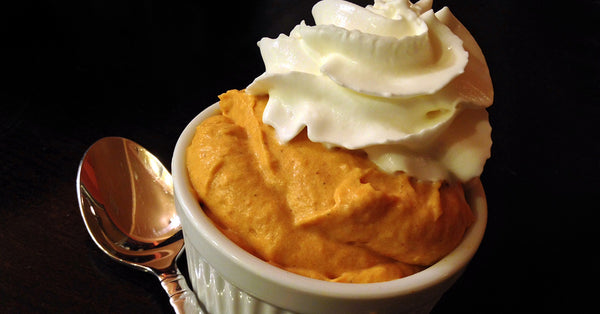 Pumpkin Whip - Sugar Free, No Bake, No Cook, Fluffy Spiced Holiday Goodness!