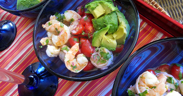 Shrimp Ceviche with Avocado. Its Fiesta Friday!