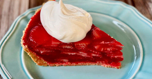Skinny Strawberry Pie