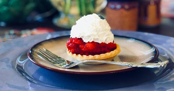Suzi's Skinny Strawberry Tartlets