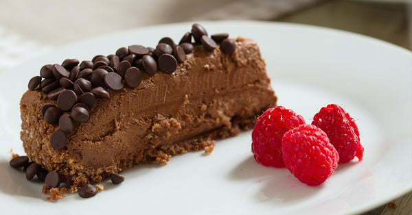 Triple Chocolate Chip Cheesecake - No Sugar Added