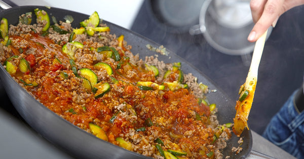 Zucchini and Ground Beef - Fast, Family & Bariatric Friendly Meal!