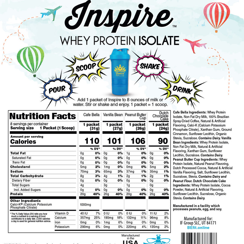 Inspire Protein Travel Singles