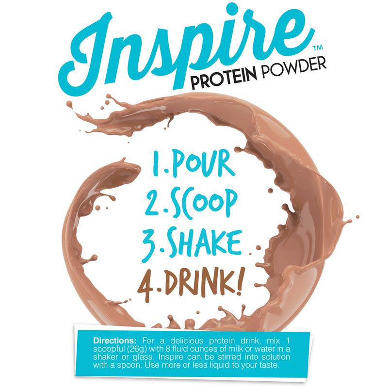 Inspire Whey Protein Isolate, Milk Chocolate Salted Caramel