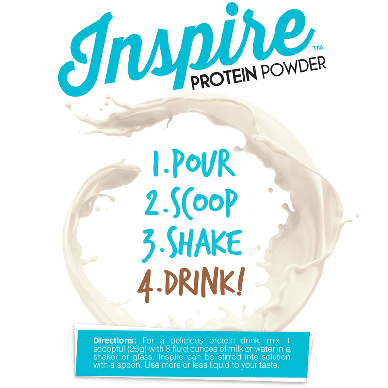 SUMMER 2021 Inspire Island Coconut Protein Powder