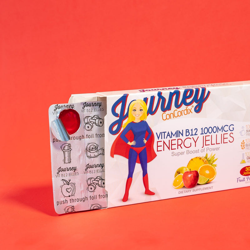 Journey ENERGY 1000mcg B12 Jellies - 30 servings