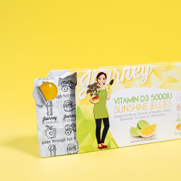 Journey Vitamin D3 5000IU Sunshine Jellies - 30 servings