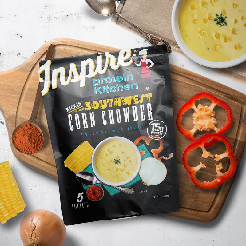 Inspire Protein Kitchen Southwest Corn Chowder - 5 servings