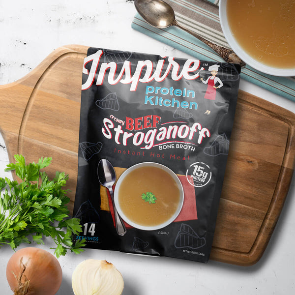 Inspire Beef Stroganoff Bone Broth