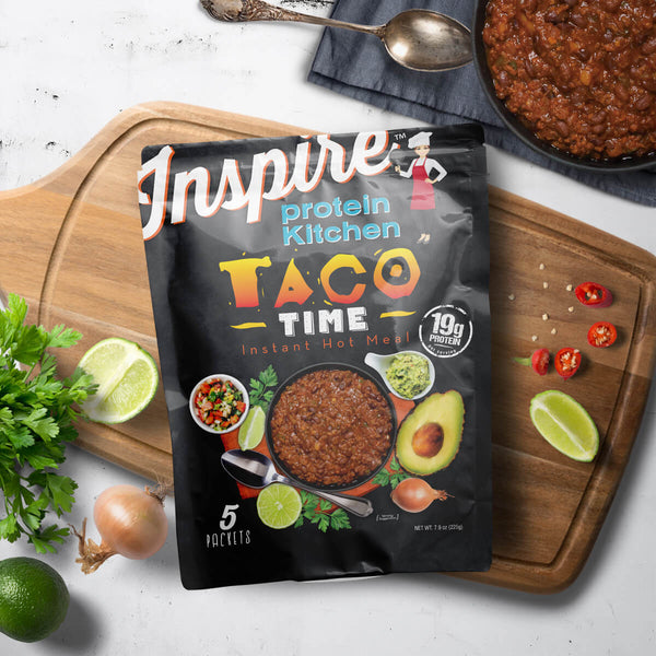 Inspire Protein Kitchen Taco Time - 5 servings