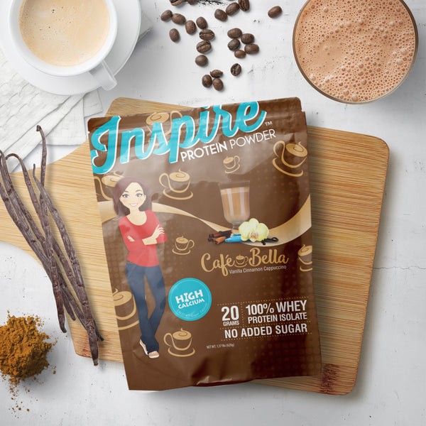 Inspire Cafe Bella Protein Powder