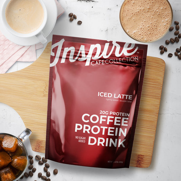 Inspire Iced Latte Protein