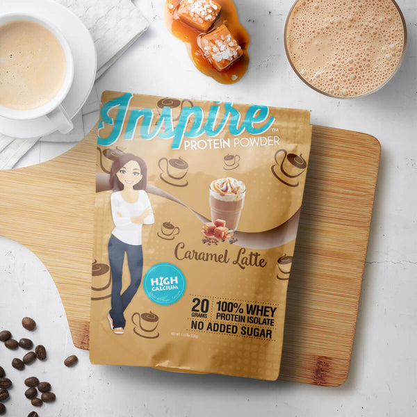 Inspire Whey Protein Isolate, Caramel Latte