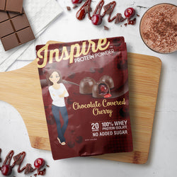 Inspire Whey Protein Isolate, Chocolate Covered Cherry