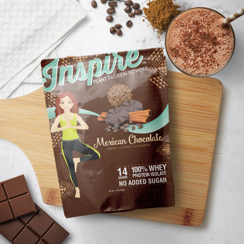 Inspire Mexican Chocolate Vegan Protein