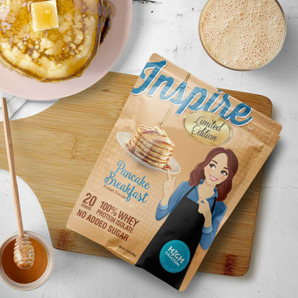 Inspire Pancake Breakfast Protein Powder