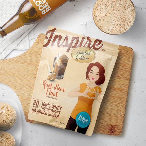 Inspire Whey Protein Isolate, Root Beer Float
