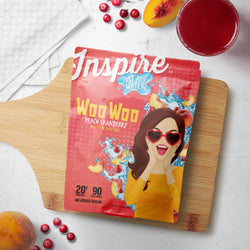 Inspire Protein Juice Mix Peach Cranberry