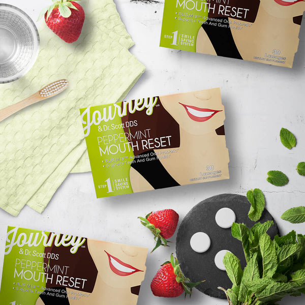 Journey Smile - Peppermint Reset, 30 count blister pack