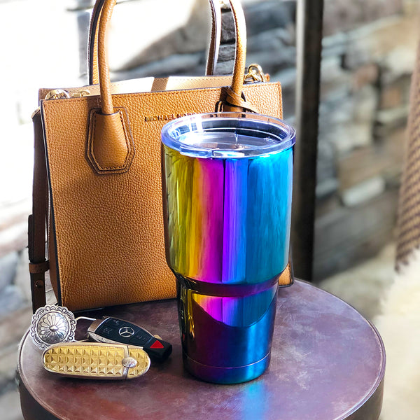 Unicorn Chrome Tumbler