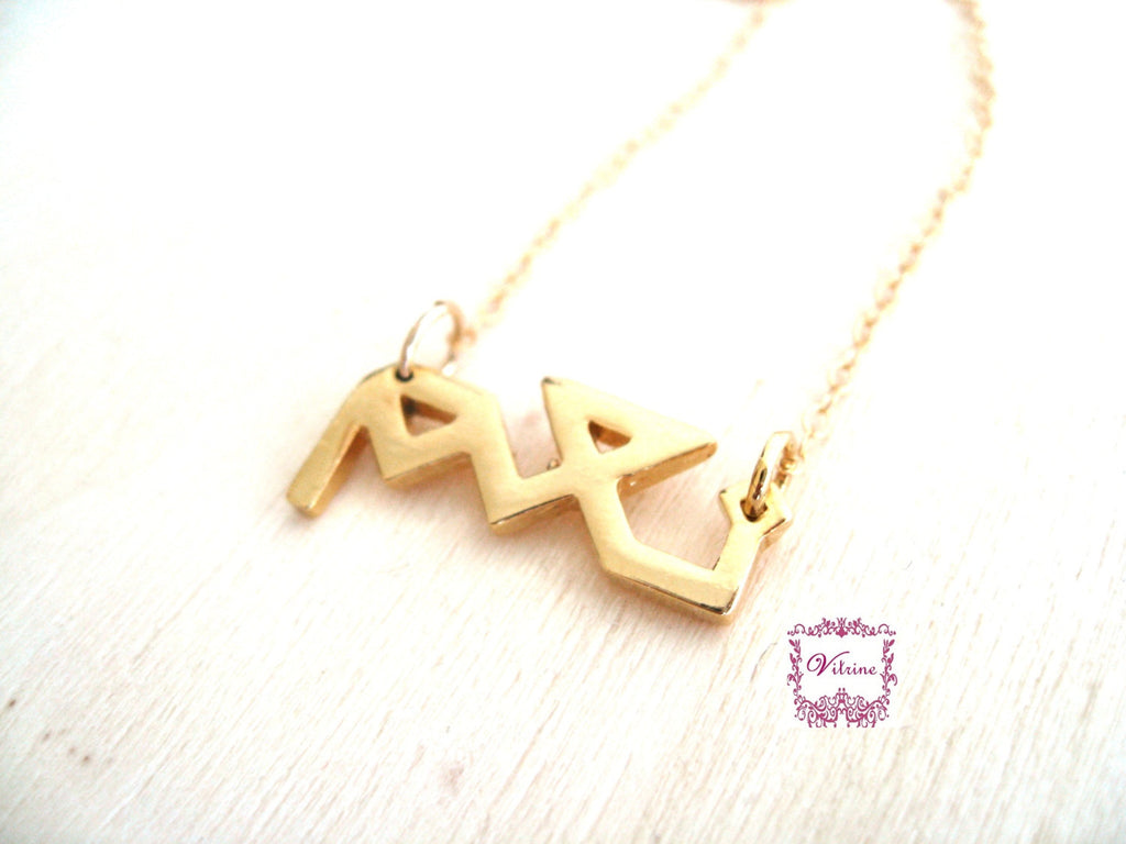 Yes necklace Arabic calligraphy