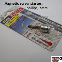 Magnetic screw starter 6 mm shaft