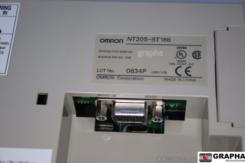 Omron touch monitor: NT20S-ST168