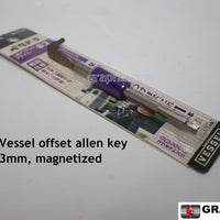 Compact offset allen key 3mm
