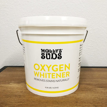 Molly's Suds Oxygen Whitener 1 Gallon Refill Bulk Family Size