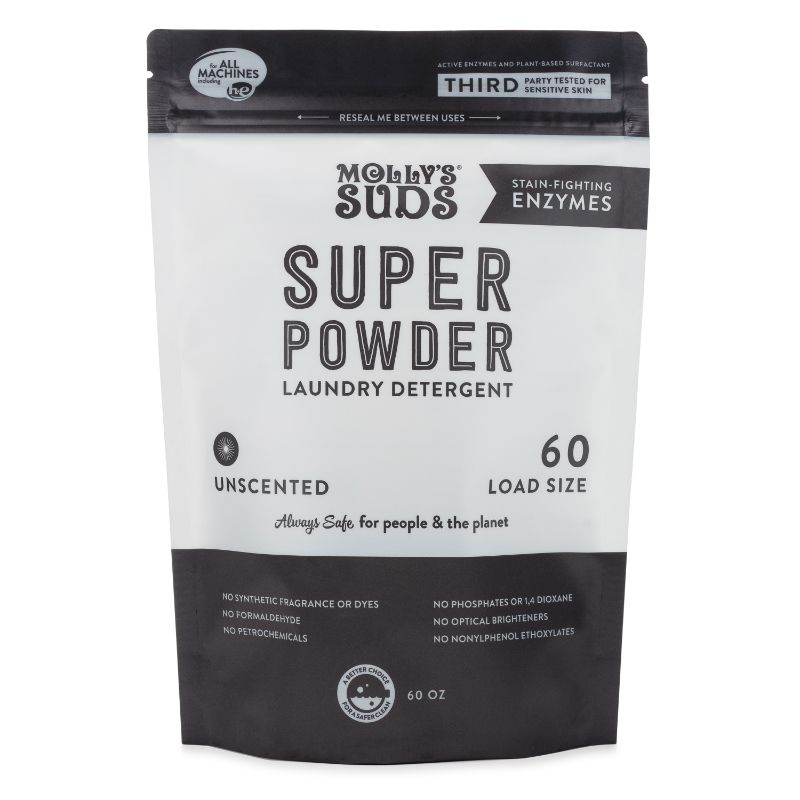 Super Powder Laundry Detergent with Enzymes