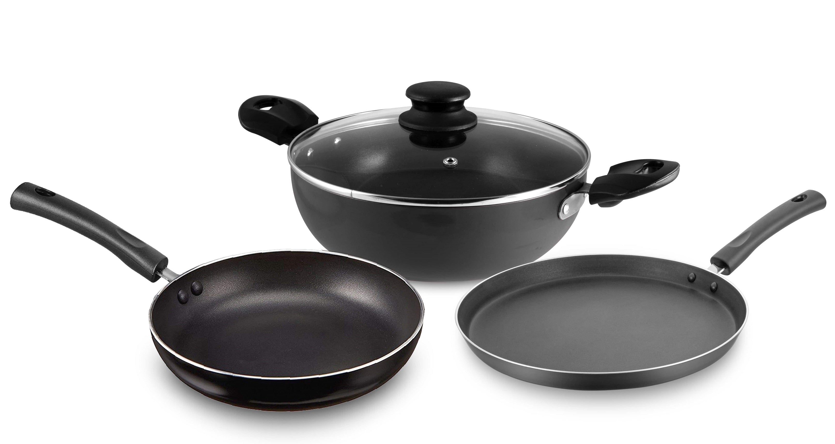 Allure Non Stick Cookware set S/3