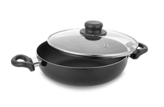 Allure Non Stick  Kadhai with Glass Lid