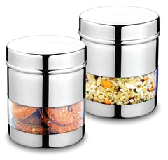 Classic Essentials Sleek Canister Set of 2 PCS