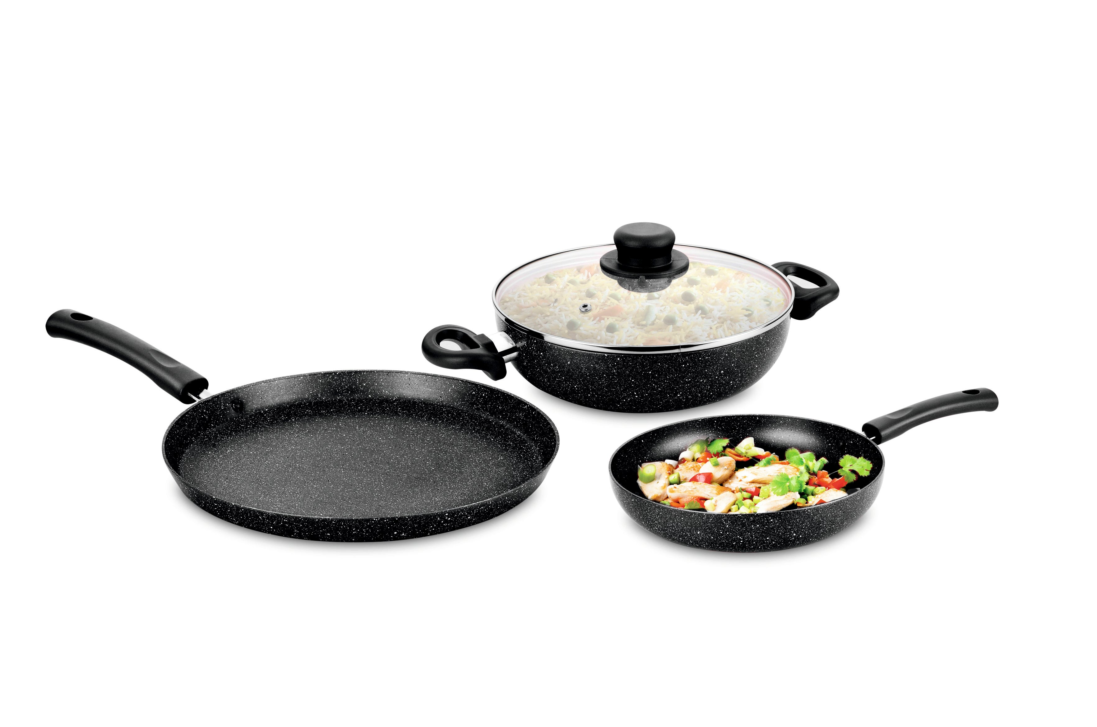 Granito Non Stick Cookware set S/3