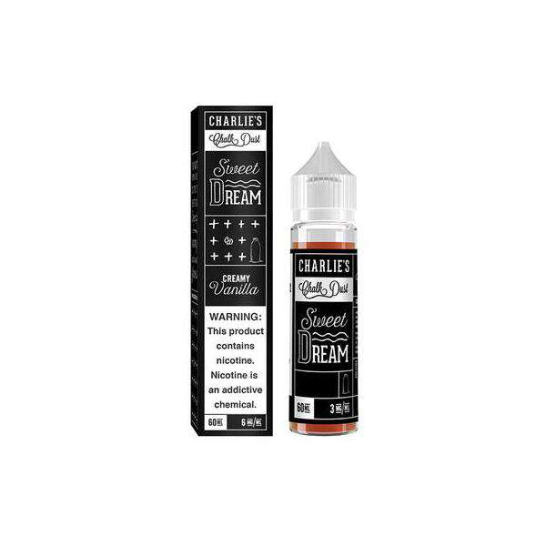 Charlies Chalk Dust E-Liquid Charlies Chalk Dust - Dream Cream - 50ml Shortfill