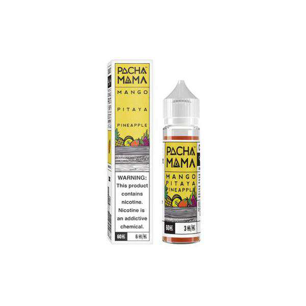 Charlies Chalk Dust E-Liquid Pacha Mama - 50ml Shortfill - Mango Pitaya Pineapple