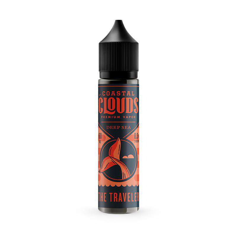 Coastal Clouds E-Liquid Coastal Clouds - The Traveler - 50ml Shortfill