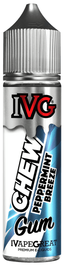 IVG E-Liquid IVG - Chew - 50ml Shortfill - Peppermint Breeze