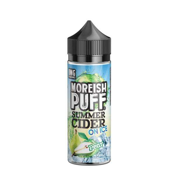 Moreish Puff E-Liquid Moreish Puff - Summer Cider On Ice - 100ml Shortfill - Pear